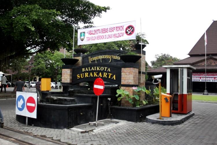 Kawasan Sehat Balaikota Surakarta Bebas Asap Rokok (3)